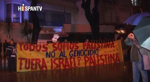 Uruguay gegen den Krieg gegen Gaza