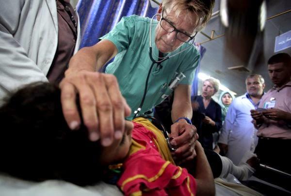 Wieder sterben Kinder in Gaza…