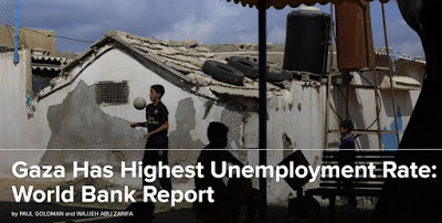 Arbeitslosigkeit in Gaza von Ellen Rohlfs