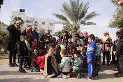 """Appell an die Künstlerinnen und Künstler:  """"Glückliche Stunden für die Kinder in Gaza!"""""""