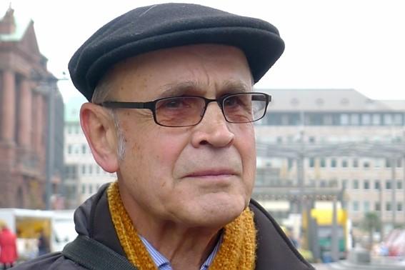 ProMosaik e.V. im Gespräch mit Hartmut Drewes über die Montagen von Rudolph Bauer