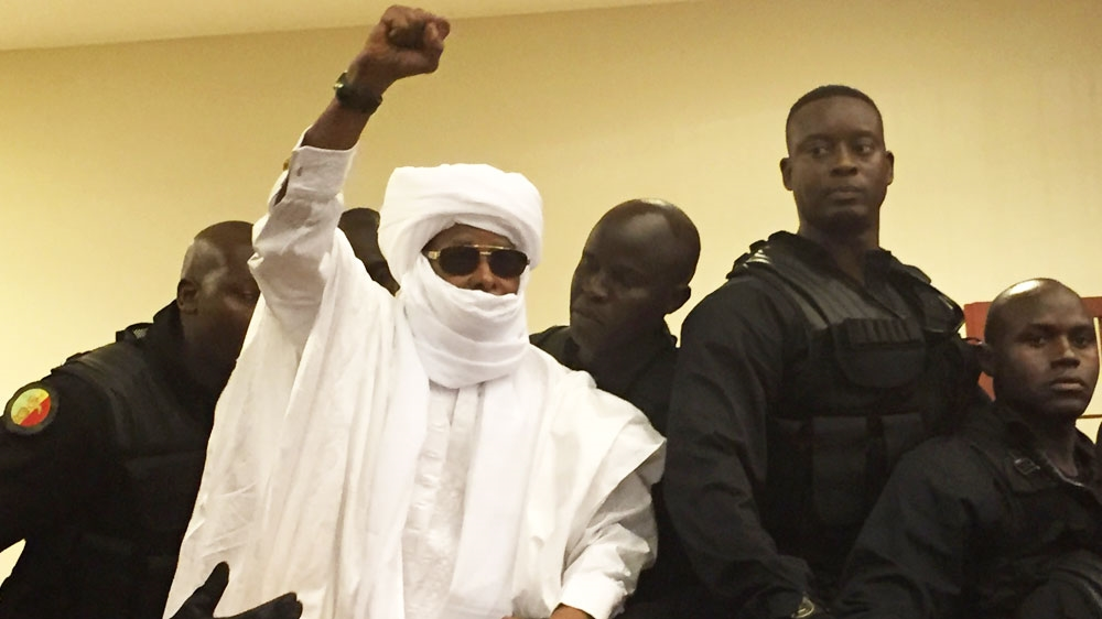 Chad's Hissene Habre jailed for crimes against humanity