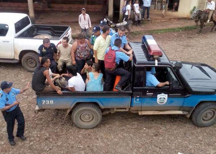 Activistas latinoamericanos detenidos en Nicaragua