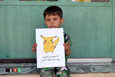Siria, 35.000 bimbi in trappola a Manbij