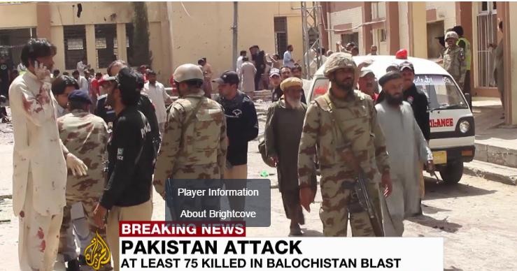 Pakistan: Blast at Quetta hospital after lawyer killed