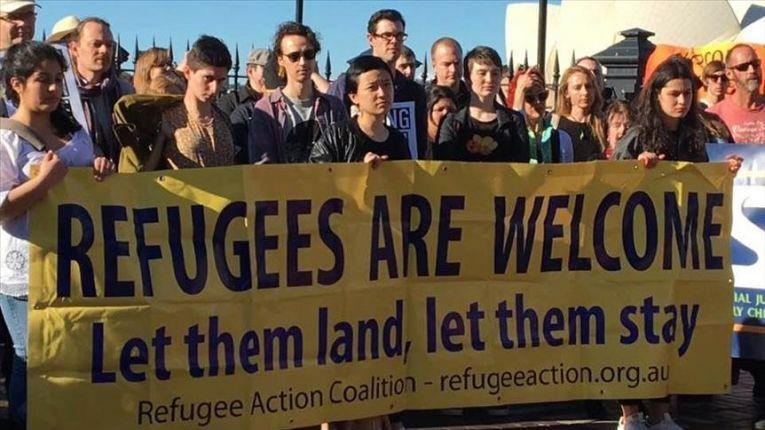 Australians protest against detention of migrants