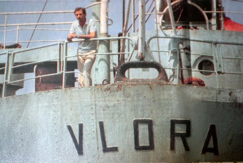 La odisea del 'Vlora', el buque que llevó a 20.000 refugiados albaneses a Bari
