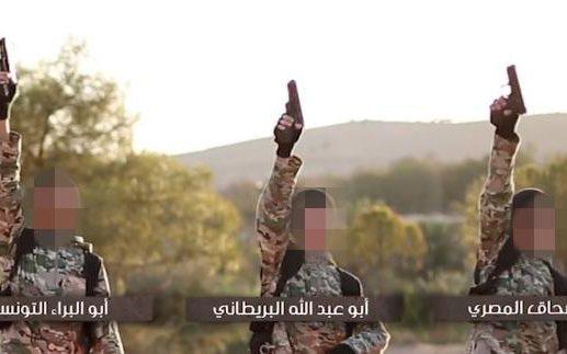 Father identifies young British boy in Isil video as son of punk rocker turned jihadi bride Sally Jones