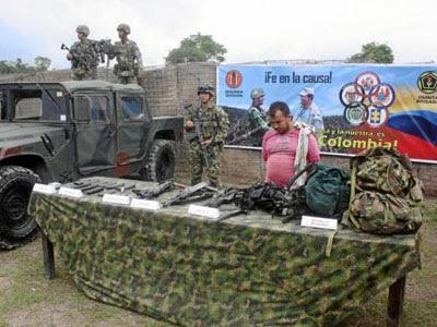 """Colombia: """"Guerrilleros capturados son de las FARC, no del ELN"""""""