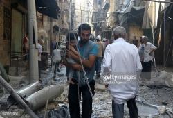 Ad Aleppo est almeno 96 bambini uccisi e 223 feriti