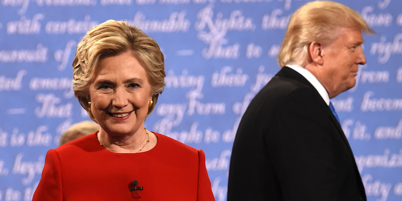 Hillary Clinton ha vinto il primo dibattito