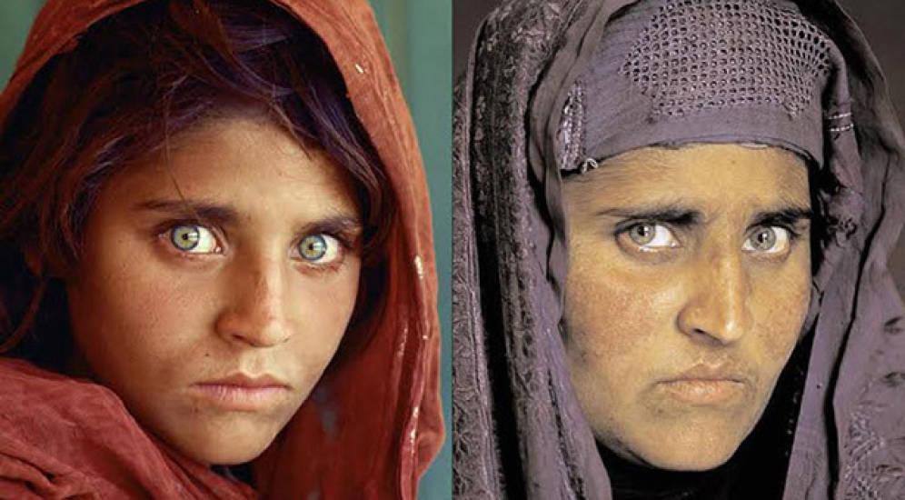 La 'niña afgana' de National Geographic, detenida en Pakistán con documentos falsos