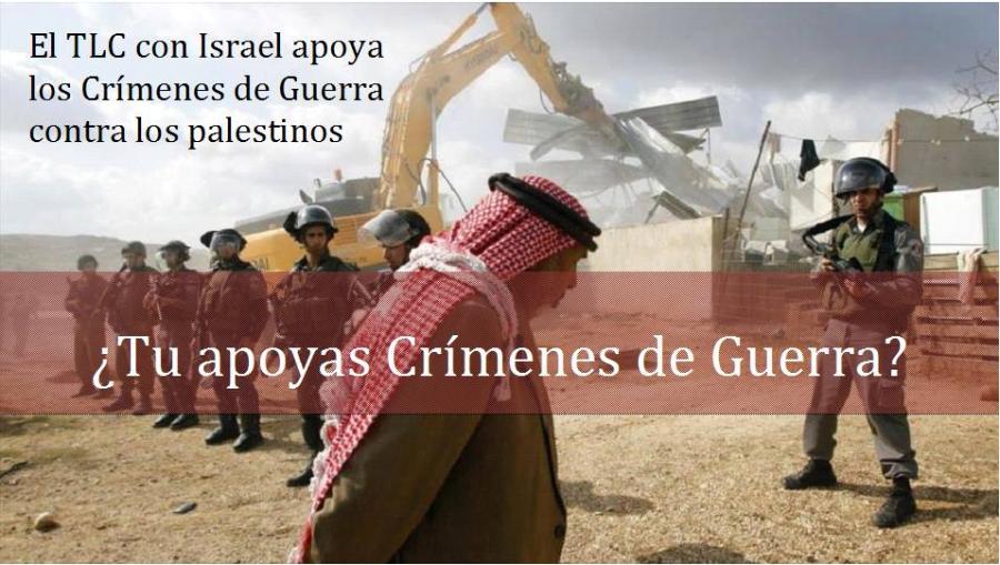 TLC con Colombia: Otro tratado que legitimaría la ocupación de Palestina