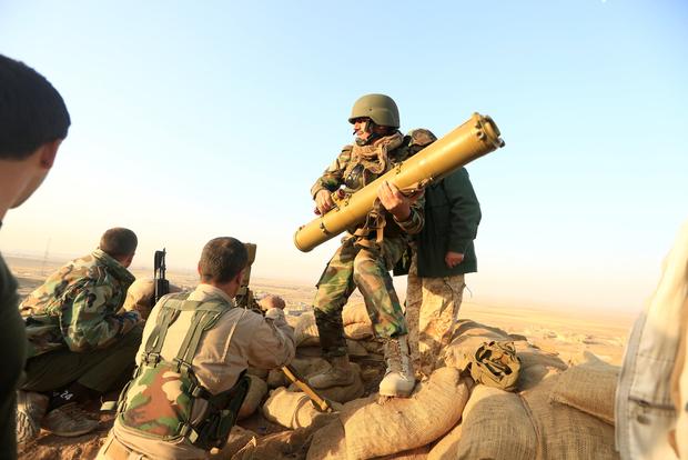Les peshmergas kurdes ouvrent un nouveau front dans la bataille pour Mossoul