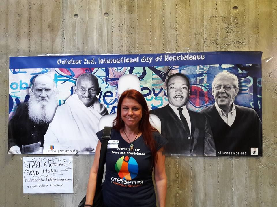 Sabine Kroesen aus Wien: für einen positiven, gewaltfreien Journalismus