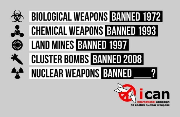 ONU: armi nucleari illegali dal 2017