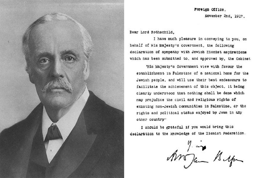 Déclaration Balfour : 99 ans de colonialisme, 99 ans de résistance !