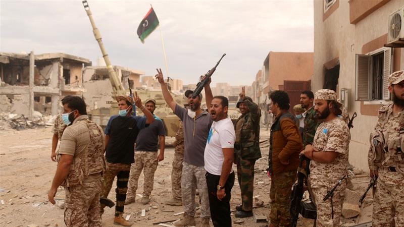 Libyan forces claim control of ISIL stronghold of Sirte
