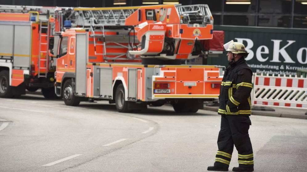 68 personas atendidas en el aeropuerto de Hamburgo por un gas irritante