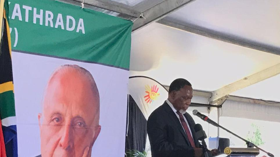Zuma's leadership attacked at funeral of anti-apartheid icon