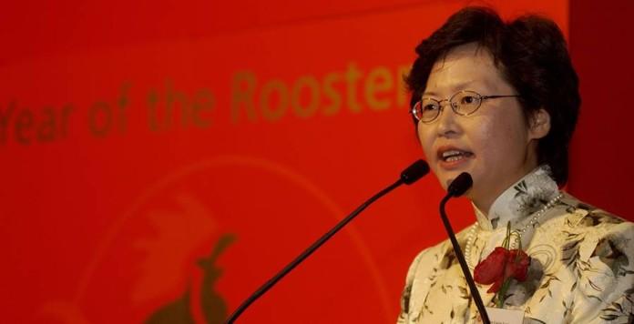 """Hong Kong, Carrie Lam nuovo """"chief executive"""": è la prima donna eletta leader"""