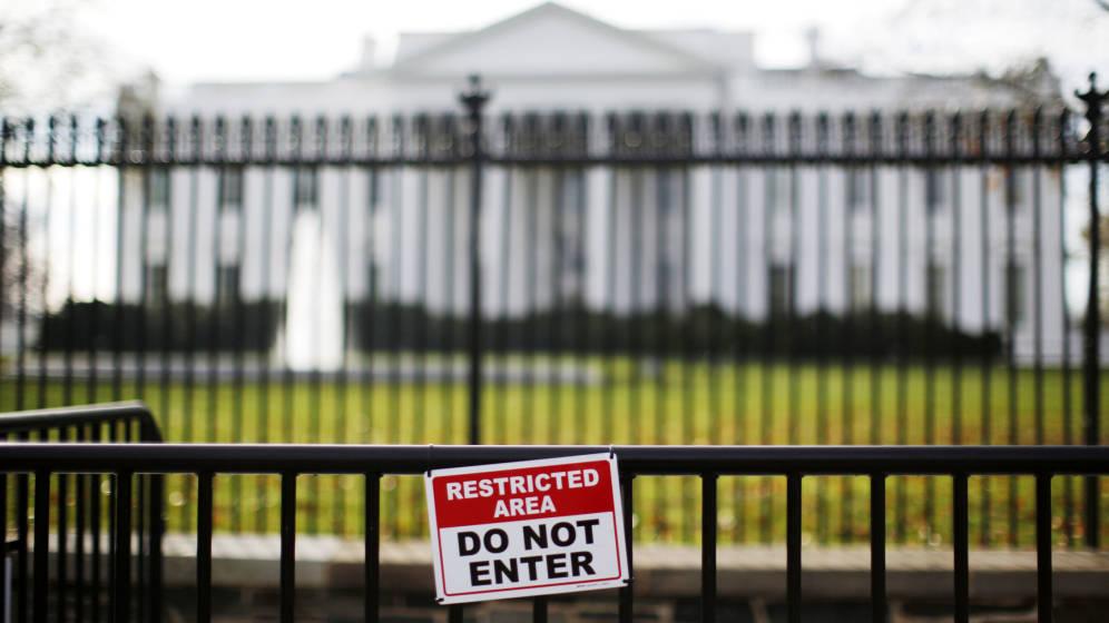Detenida una persona en la Casa Blanca que asegura llevar una bomba en el coche
