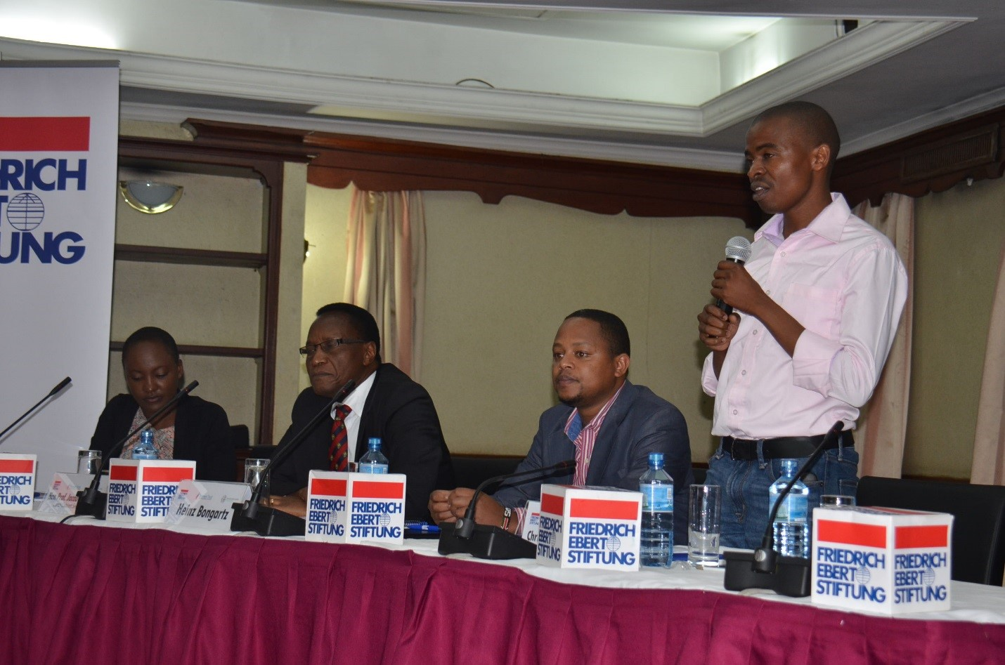 Titus Kaloki of FES in Nairobi – we need a strong civil society