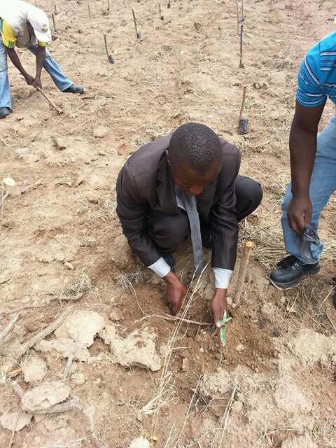 Misheck Marowa of ECAG Zimbabwe – struggling against poverty
