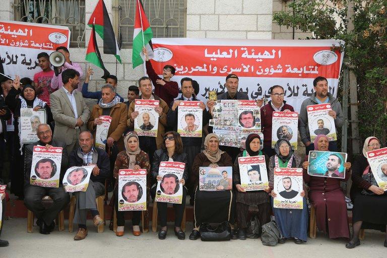 Intervista a Khaled, durante la protesta per i prigionieri palestinesi