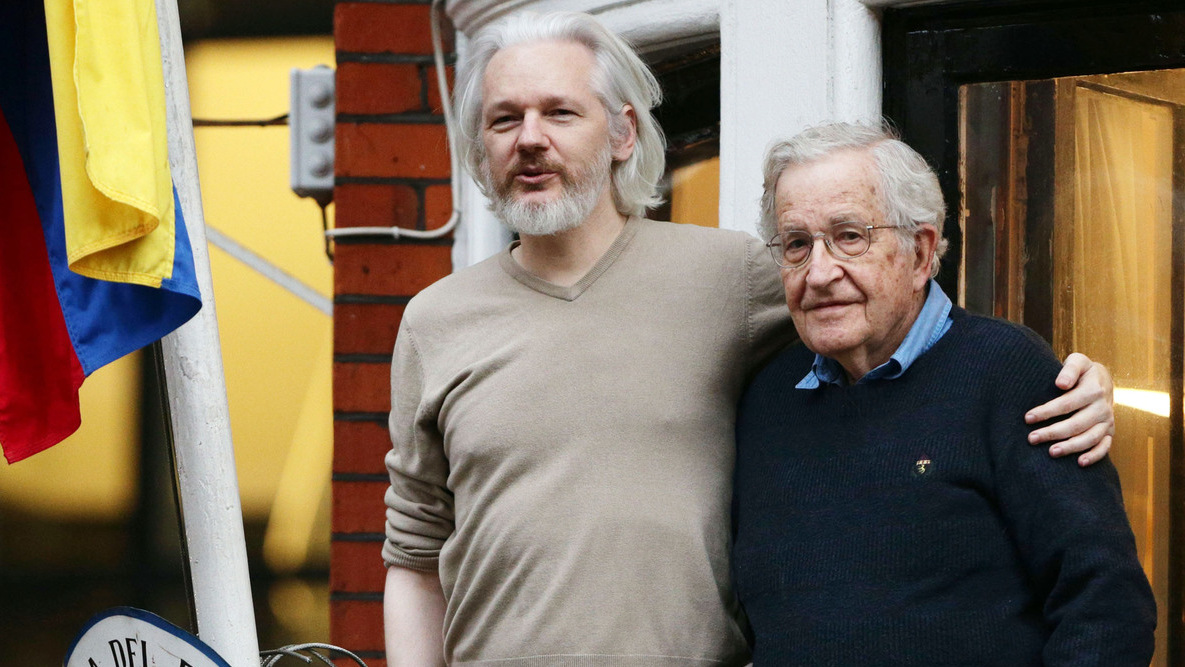 Chomsky Says Republicans Most Dangerous Group In History – Assange Points To CIA
