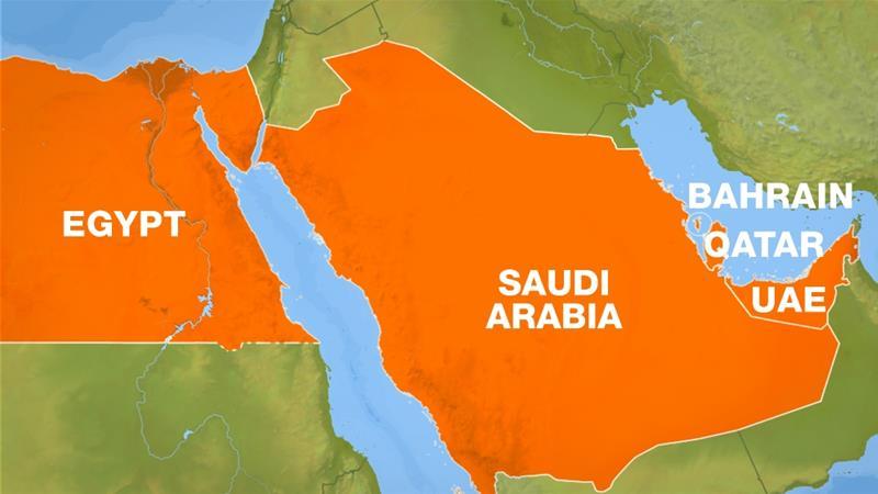 Saudi Arabia, UAE, Egypt, Bahrain cut ties to Qatar