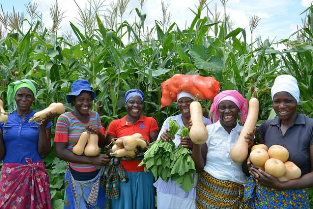 Women Small-Holder Farmers, Key Drivers for Sustainable Production