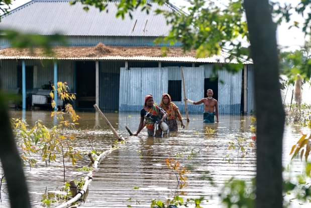 South Asia Faces Fury of Floods