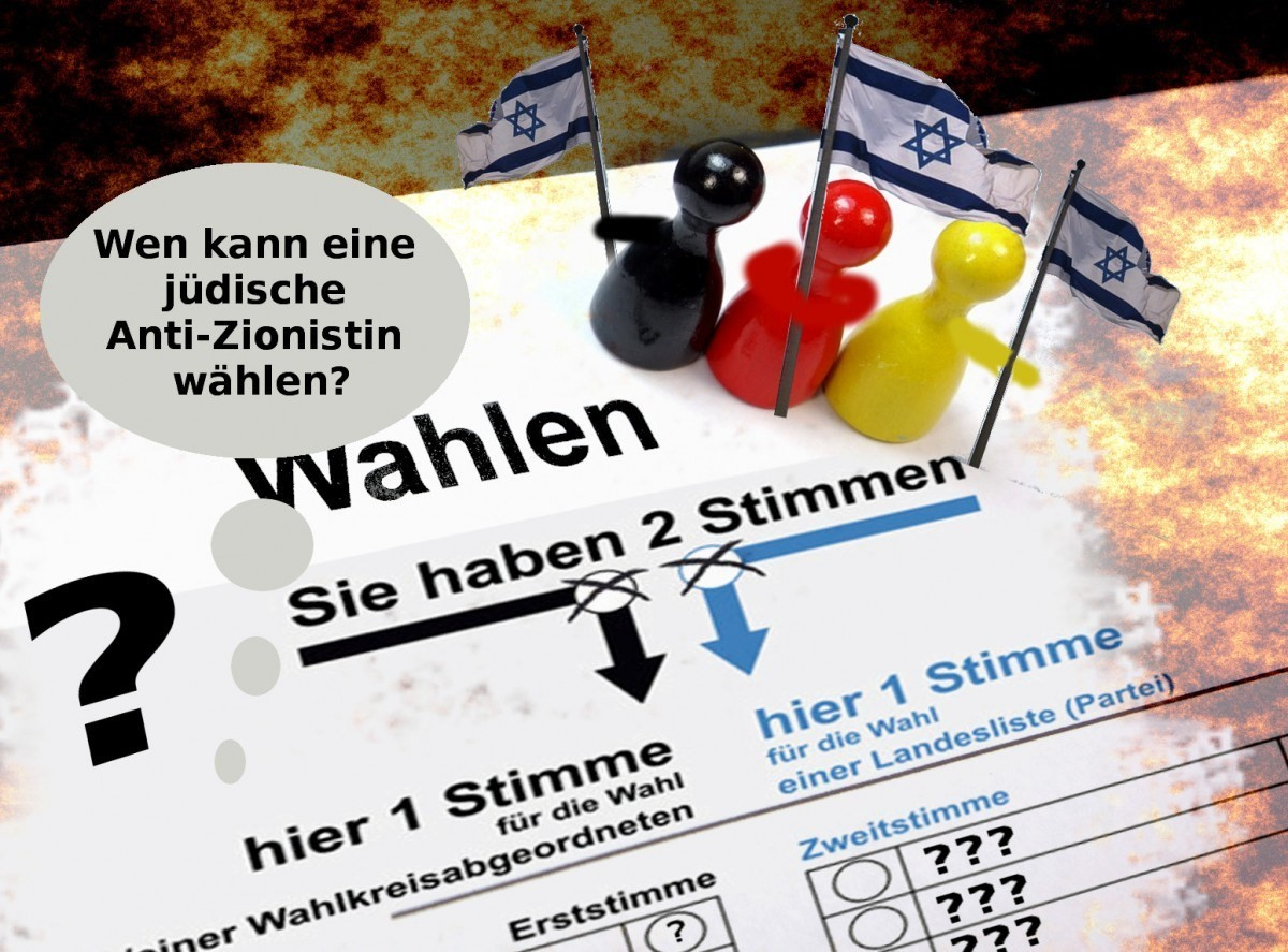 Wen kann eine jüdische Anti-Zionistin wählen?