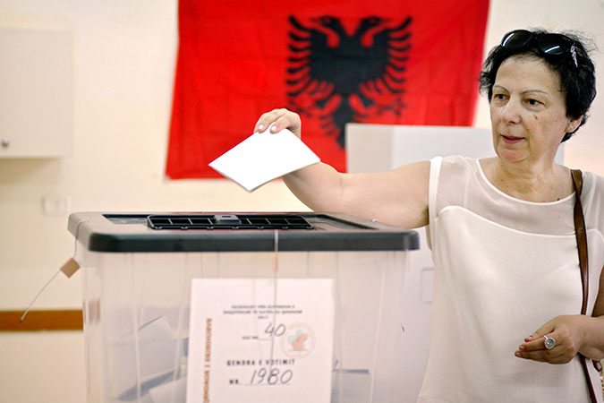 In Albania, elections herald historic increase in number of women MPs