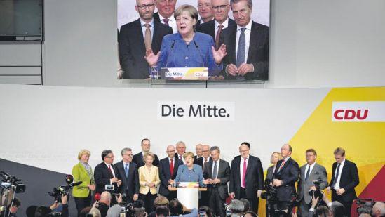 Merkel ganó, pero la sorpresa la dio la ultraderecha