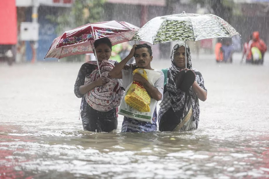Photos: Devastating monsoon rains affect 41 million people in South Asia
