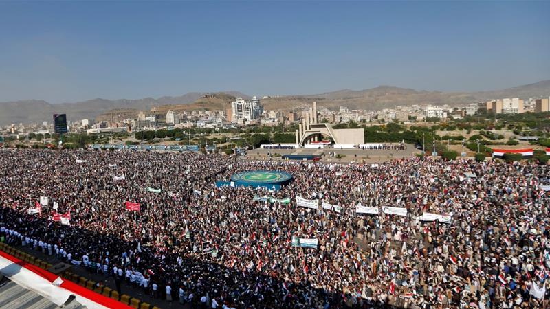 Houthi criticises Saudis, UAE in anniversary speech