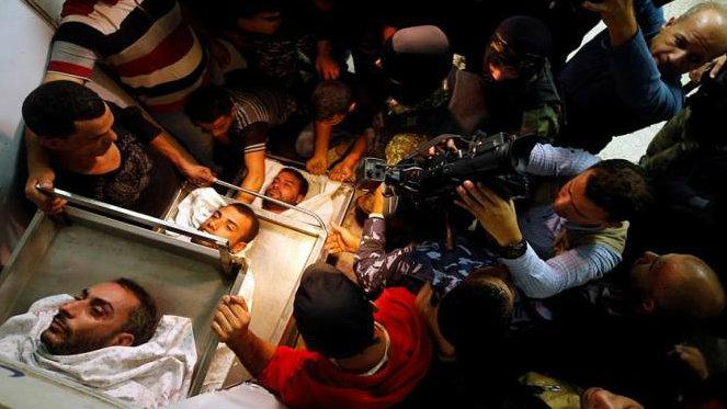 Comunidades Palestinas de América Latina, condenan el crimen israelí de hoy en Gaza