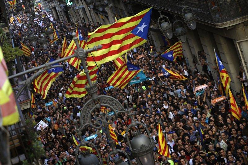 Spain takes over Catalonia, fires defiant separatist leaders