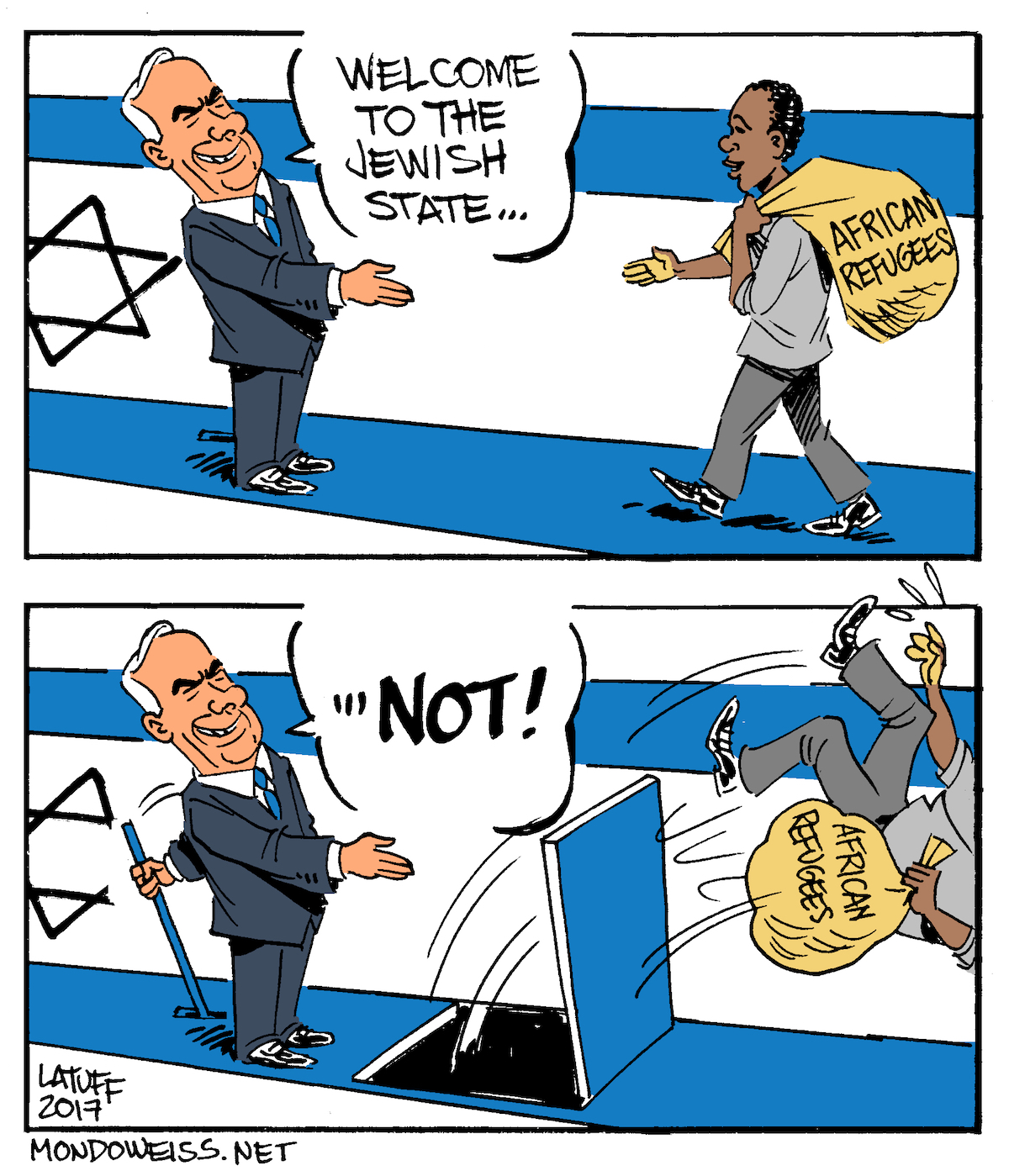 Israel passes 'anti-infiltration law' to speed up the deportation of African refugees