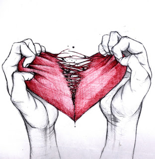 L'uomo con il cuore a metà