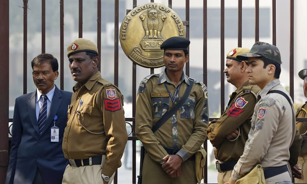 Delhi police raid 'spiritual university' and find women behind locked doors