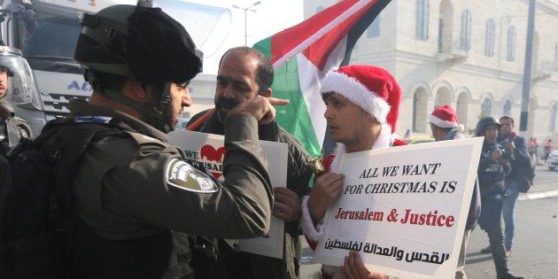 La Navidad en Belén se ha ensombrecido y el primer culpable es Trump