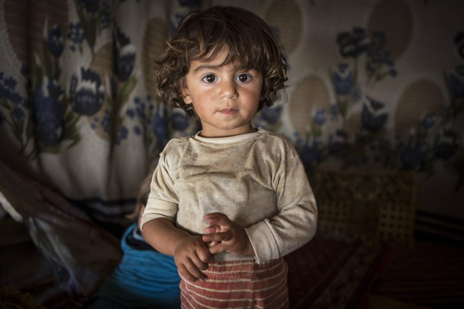 El conflicto sirio, contado con ojos de padre