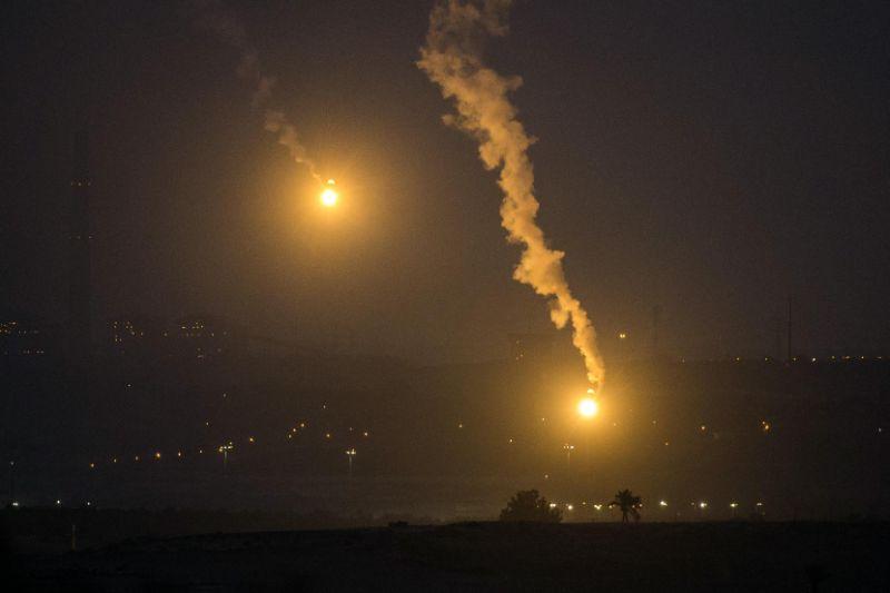 Nacht in Gaza