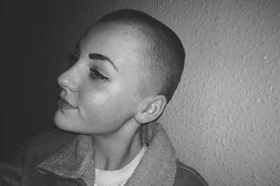 Teenage schoolgirl placed in isolation after shaving head for charity