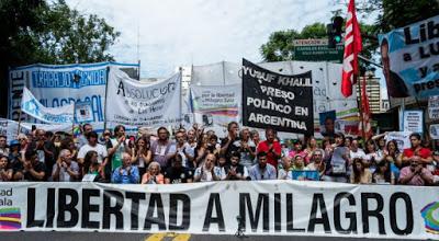 Due anni a chiedere la liberazione di Milagro Sala