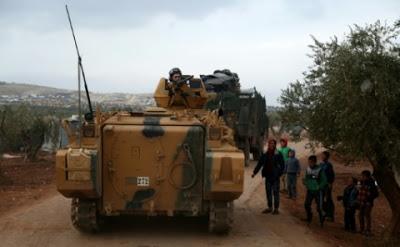 Syrie: l'armée turque continue son offensive contre les miliciens kurdes