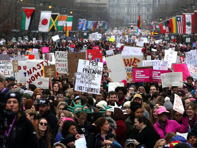 Women's March 2018: Protesters Take to the Streets for the Second Straight Year